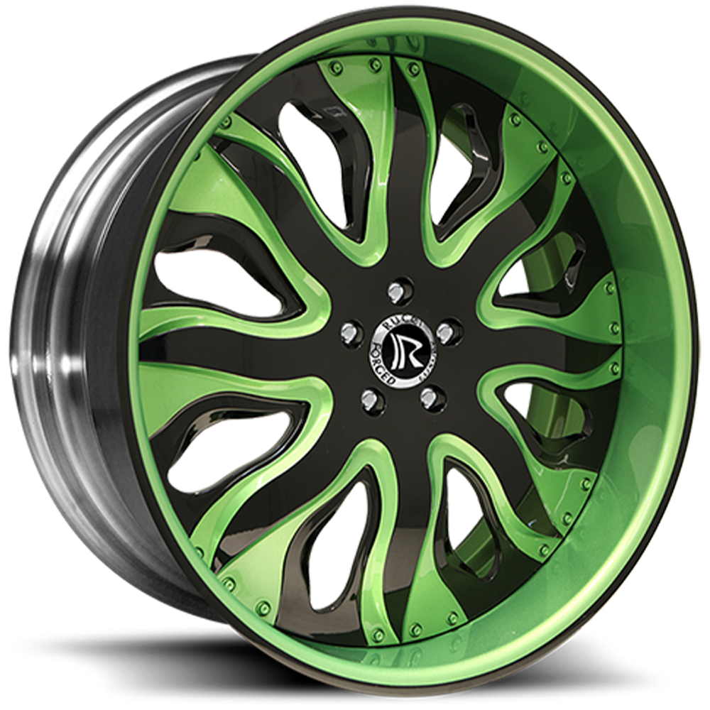 FORZA-green-black-greenlip-blackbarrel